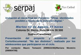 Invitación de Serpaj