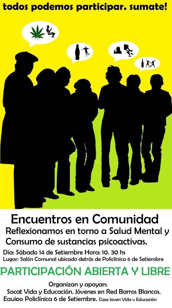 Encuentros en comunidad Sábado 14 de setiembre1
