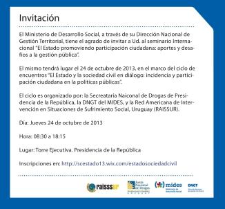 invitacion seminario 24.10.13
