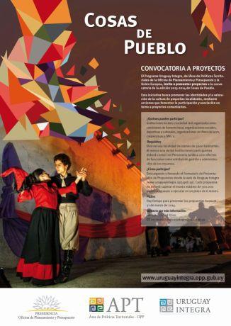 Afiche Cosas de Pueblo mail