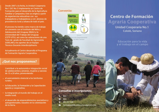 Info 1_Centro de Formacion Agraria Cooperativa_Cololo