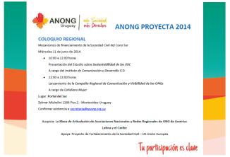 anong proyecta jun 2014