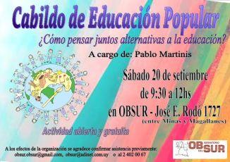 cabildo educacion popular 2014
