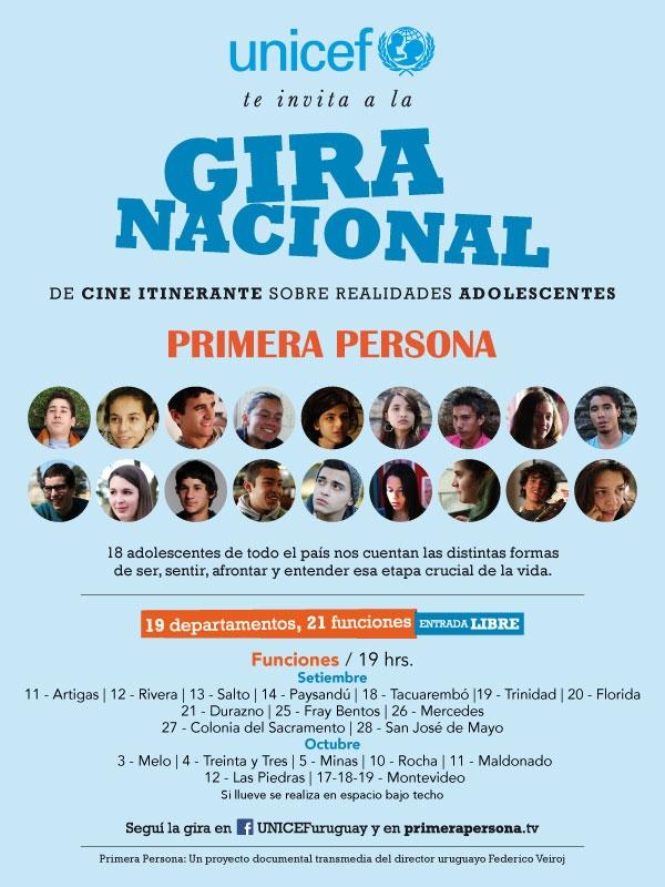 UNICEF GIRA PRIMERA PERSONA
