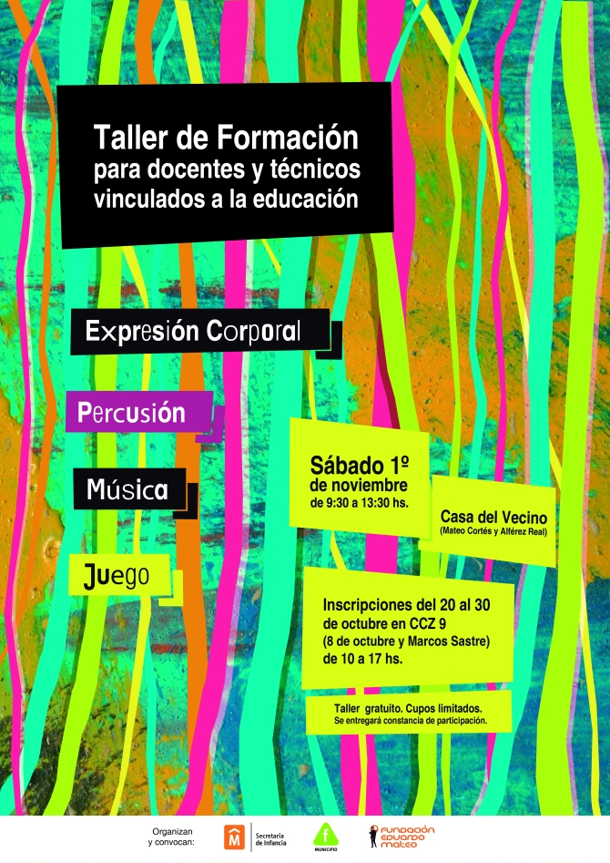 taller Fundación Mateo 2014