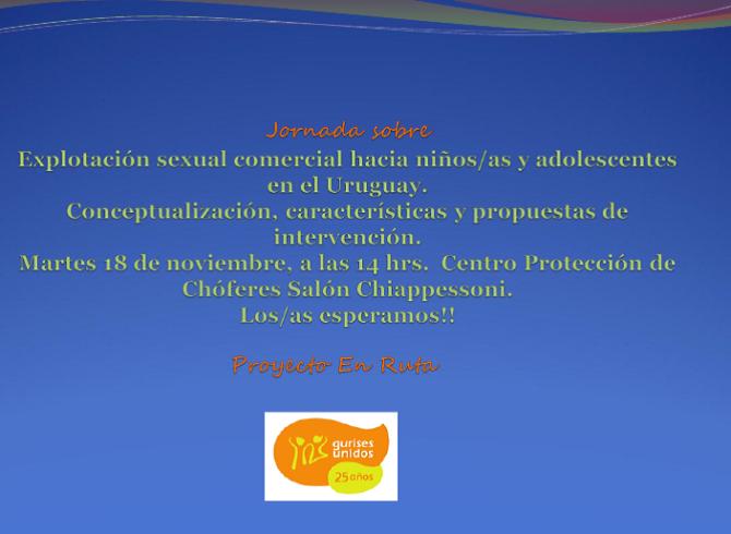 Jornada Expl Sexual nov 2014
