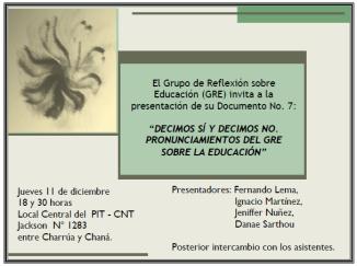 GRE - Doc. N° 7 Nov. 2014