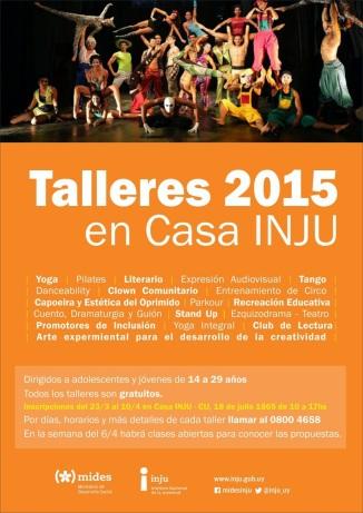 Talleres Inju 2015