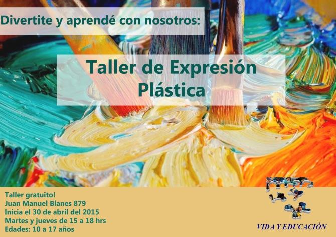 Taller Expresion Plastica VYE 2015