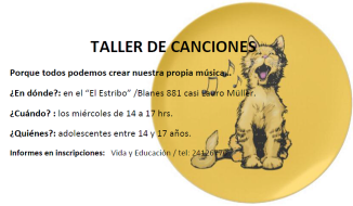 TALLER DE CANCIONES j