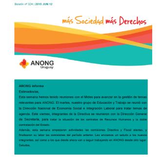 anong - Boletín nº 324