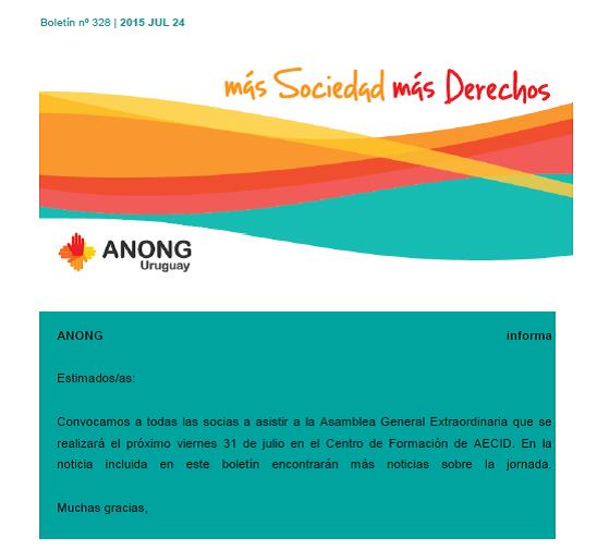 anong - Boletín nº 330