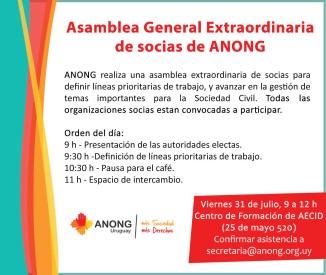 invitacion asamblea general