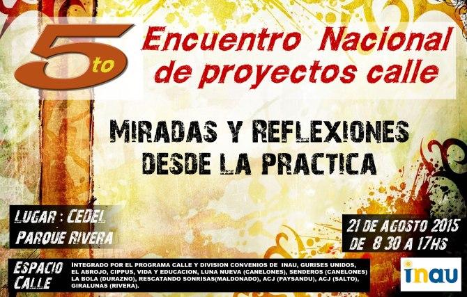 5to Encuentro Nac de Proyectos Calle definitivo