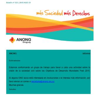 anong - Boletín nº 333