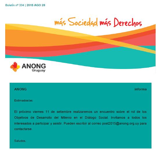 anong - Boletín nº 334