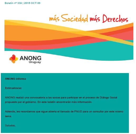 anong - Boletín nº 339