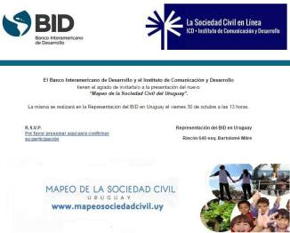 mapeo soc civil bid