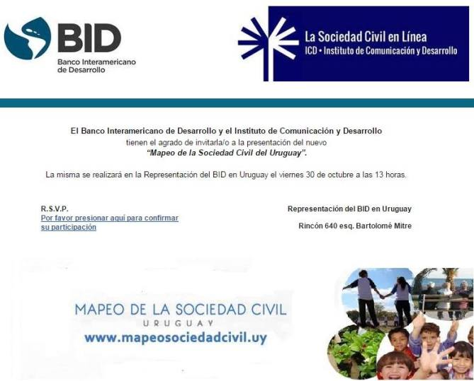 mapeo soc civil bid