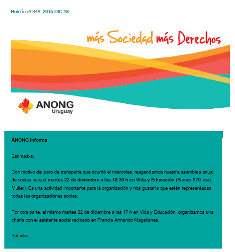 anong - Boletín nº 348