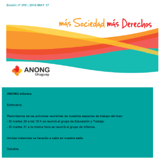 anong - Boletín nº 356