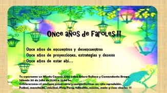 aniversario 11 de El Farol