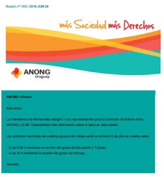 anong - Boletín nº 359