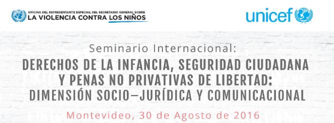 Seminario Unicef 30 ago 2016