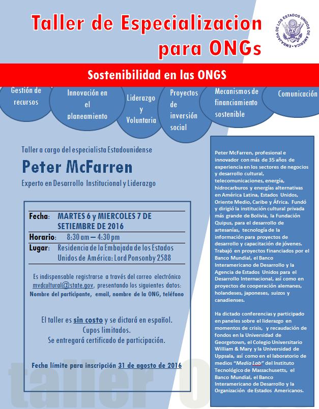 sostenibilidad ONGs